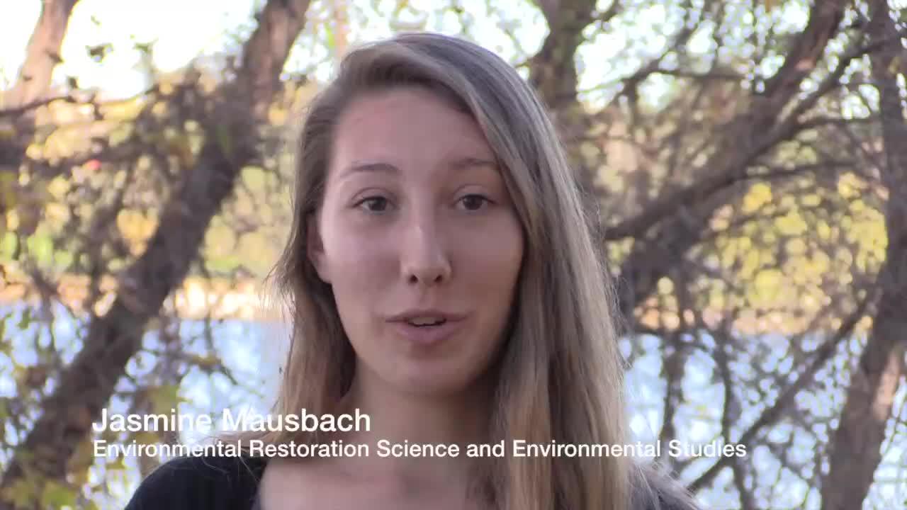 Jasmine Mausbach, Enivornmental Restoration Science Undergraduate Major