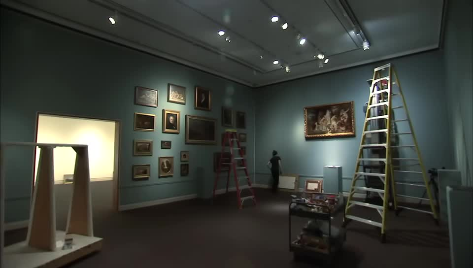 preview image of the video Sheldon Museum of Art: Re-Seeing the Permanent Collection
