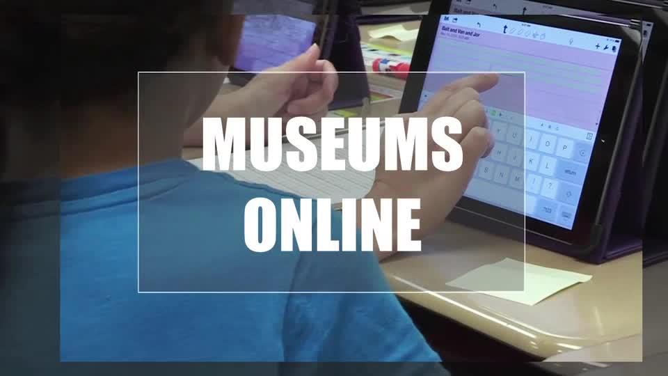 Tech Edge, Mobile Learning In The Classroom - Episode 02, Museums Online