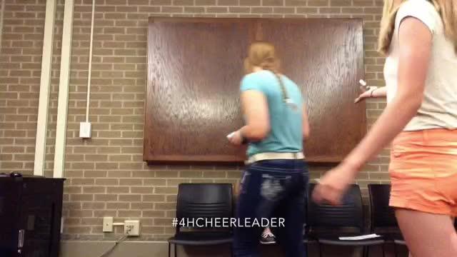#4HCHEERLEADER Life Challenge PSA