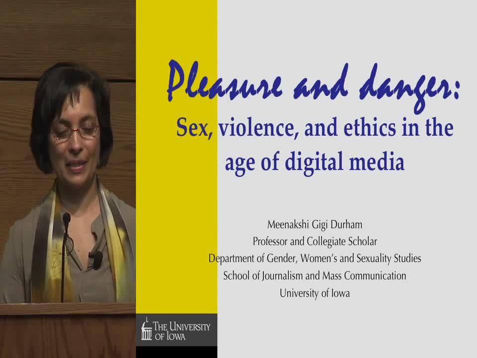 Durham Keynote: Pleasure and Danger