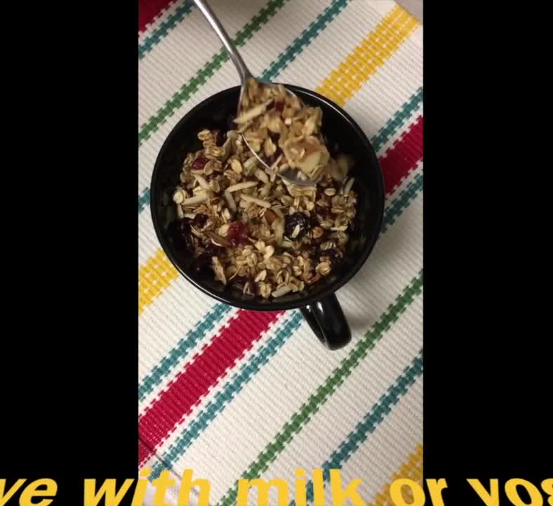 Crunchy Whole Grain Granola
