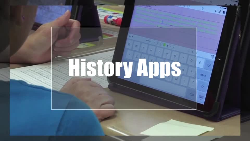 Tech Edge, Mobile Learning In The Classroom - Episode 10, History Apps