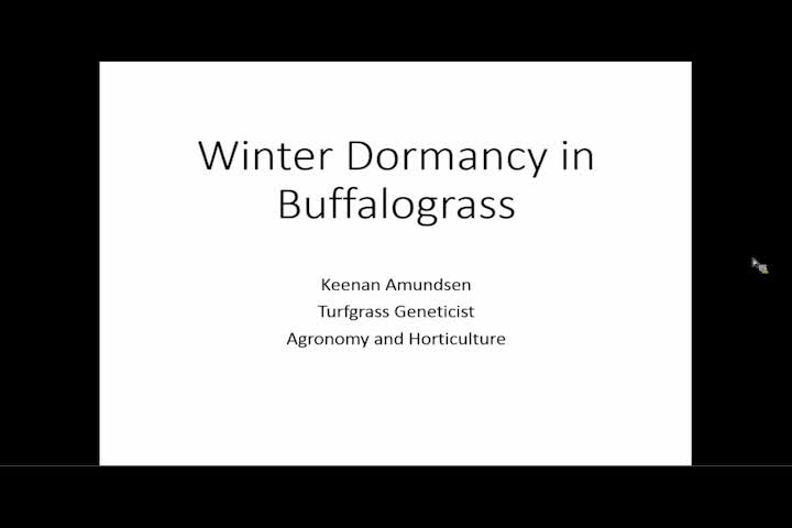 Unmanned aerial systems to evaluate the timing of winter dormancy in Buffalograss