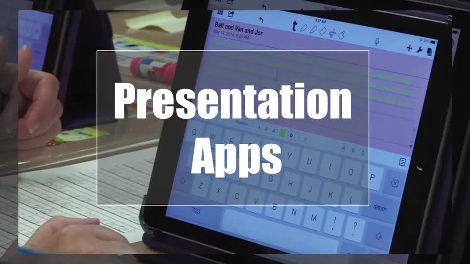 Tech Edge, Mobile Learning In The Classroom - Episode 12, Presentation Apps