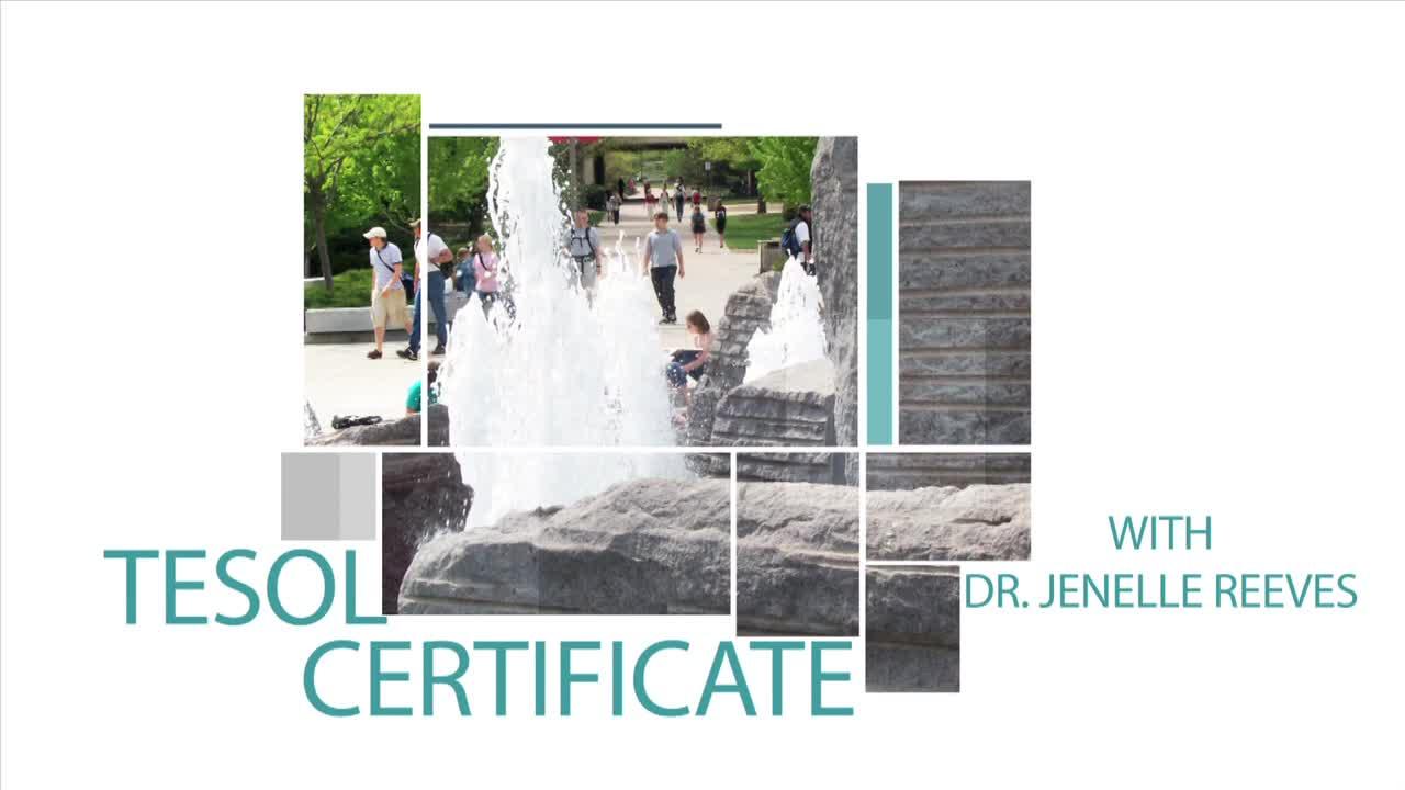 Graduate Programs TESOL Certificate