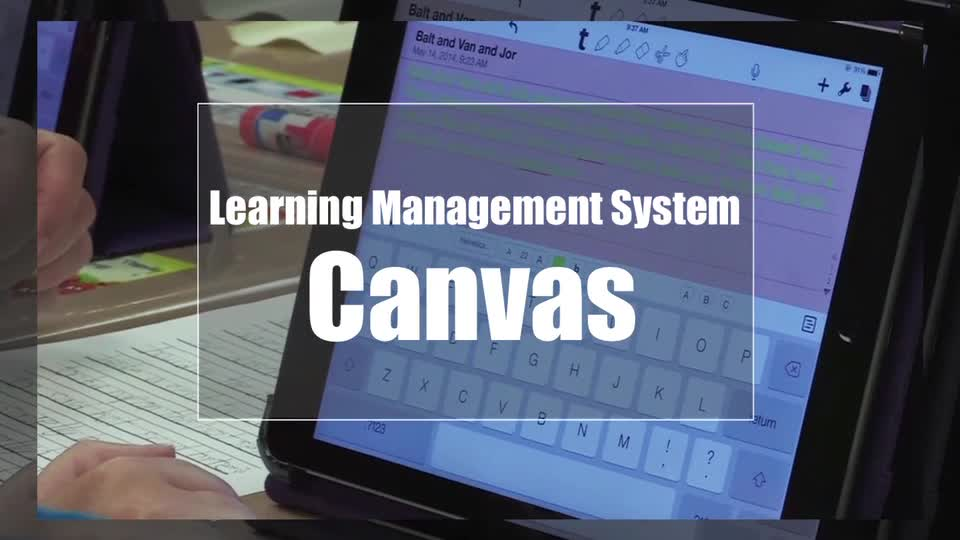 Tech Edge, Mobile Learning In The Classroom - Episode 13, Canvas