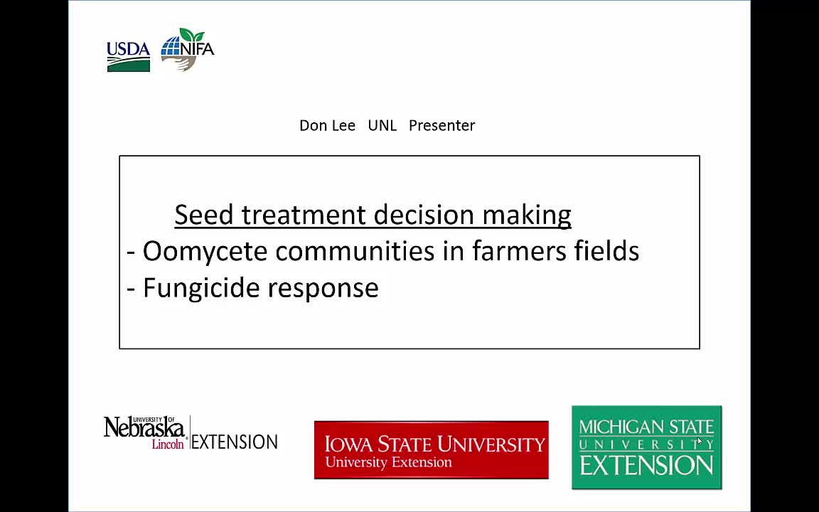 Seed Treatment Decision-making