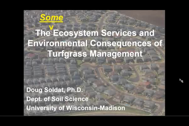 Ecosystem services and environmental consequences of lawns and turfgrass management