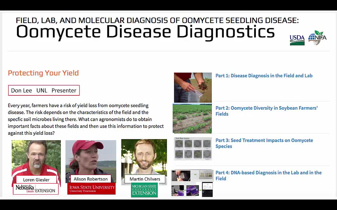Oomycete Disease Diagnostics Introduction