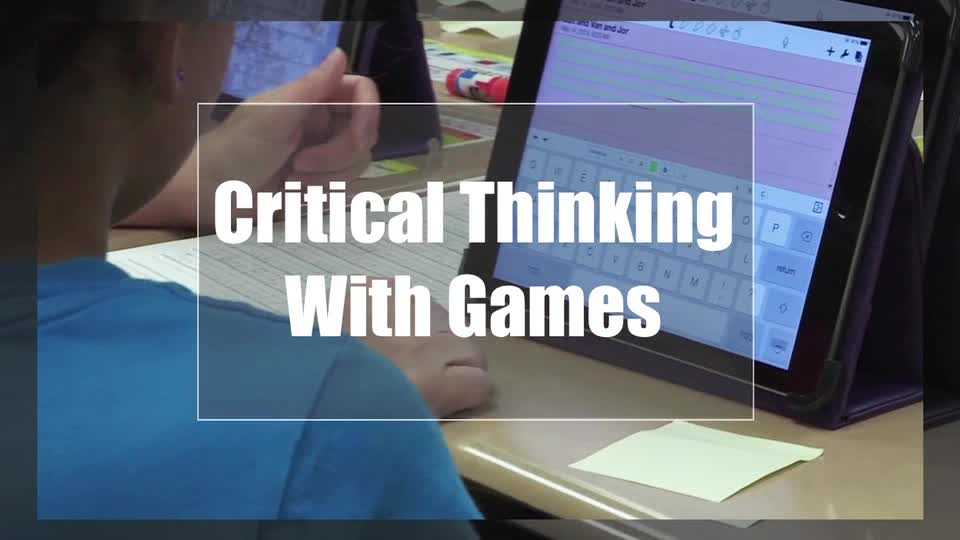 Tech Edge, Mobile Learning In The Classroom - Episode 15, Critical Thinking With Games