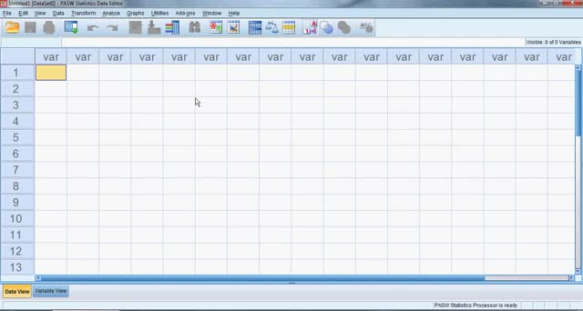 SPSS for Beginners Part 1