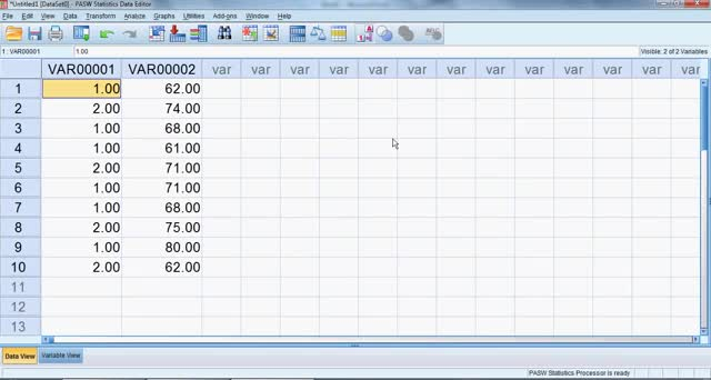 SPSS for Beginners Part 2: Frequency Counts and Descriptive Statistics