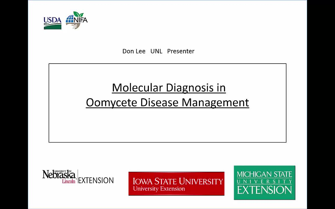 Molecular Diagnostics Part 1