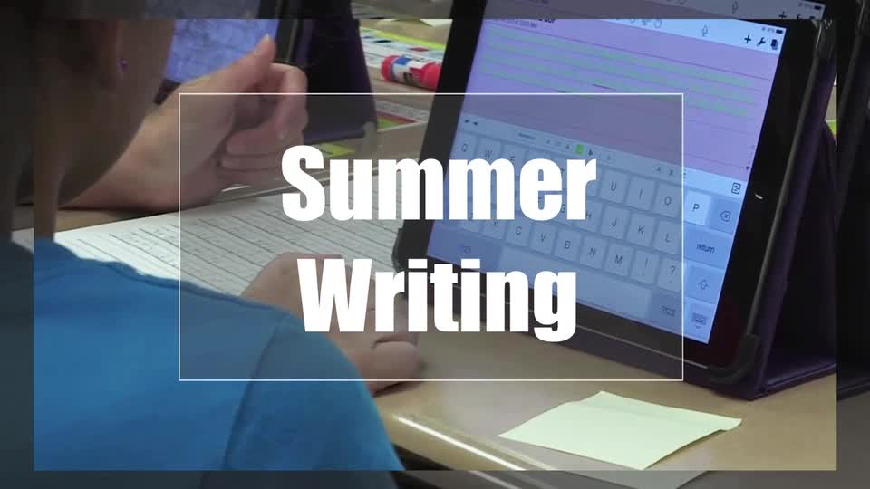 Tech Edge, Mobile Learning In The Classroom - Episode 17, Summer Writing