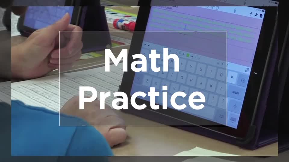 Tech Edge, Mobile Learning In The Classroom - Episode 19, Math Practice