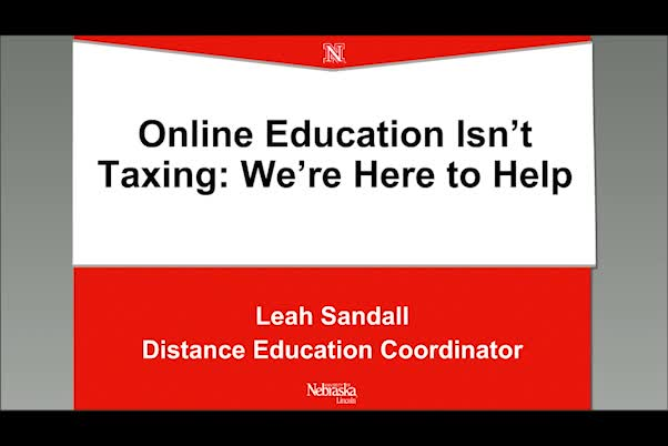Online education isn't taxing—We're here to help