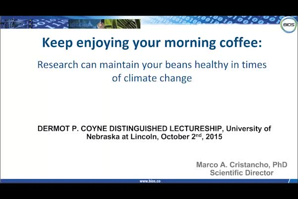 Keep enjoying your morning coffee: Research can maintain healthy beans in times of climate change