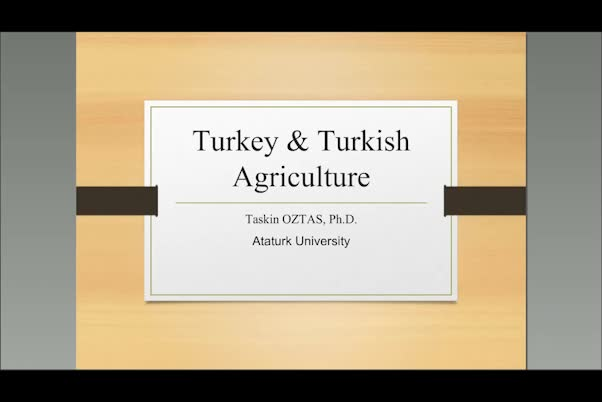 On Turkish agriculture: Self-sufficieny and yield gaps