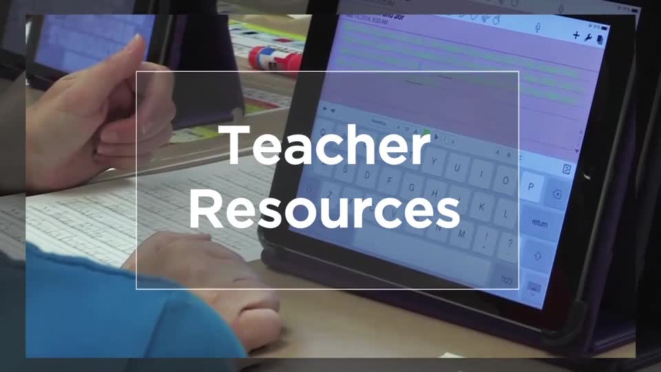 Tech Edge, Mobile Learning In The Classroom - Episode 20, Teacher Resources