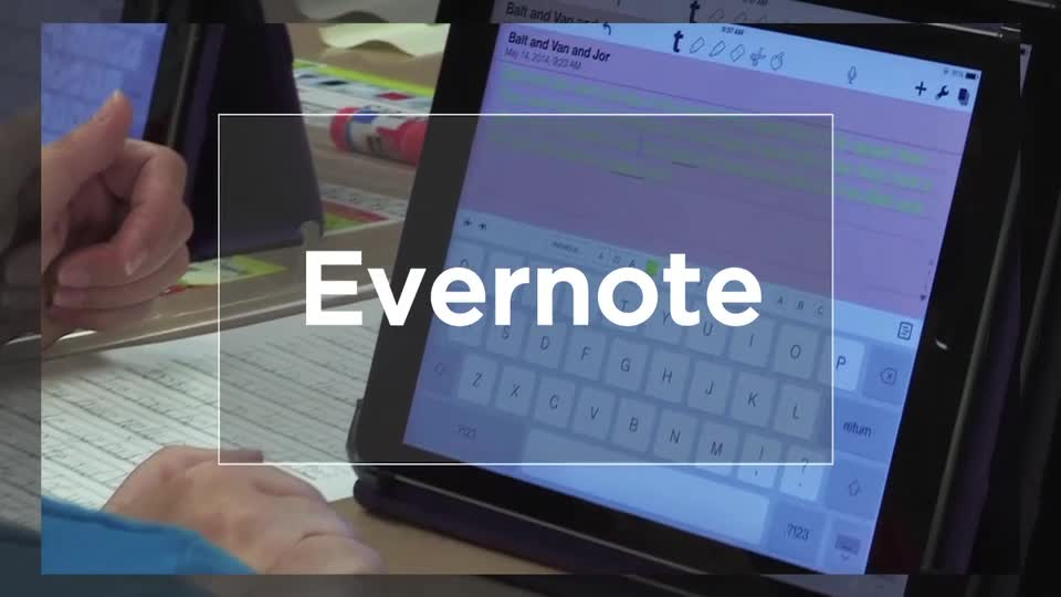Tech Edge, Mobile Learning In The Classroom - Episode 22, Evernote