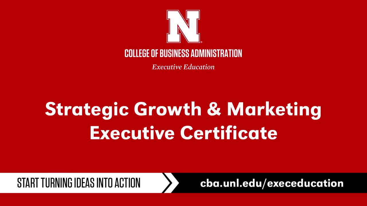 Strategic Growth and Marketing Certificate Program