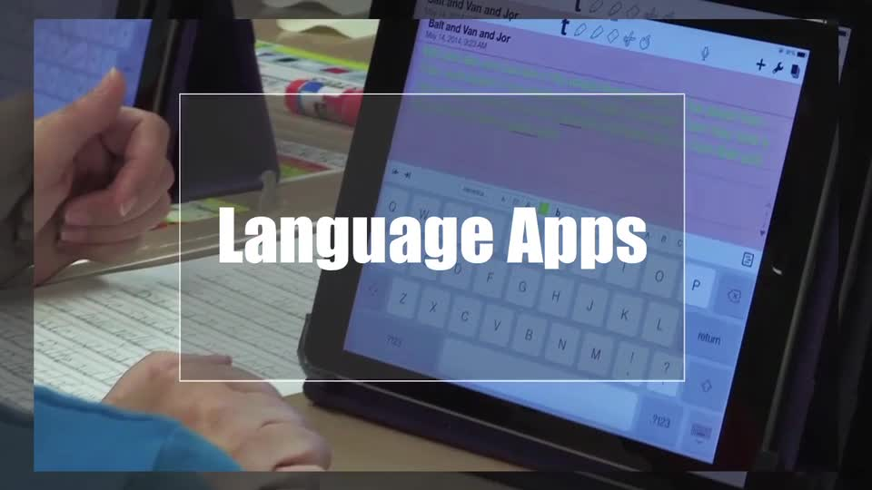 Tech Edge, Mobile Learning In The Classroom - Episode 24, Language Apps