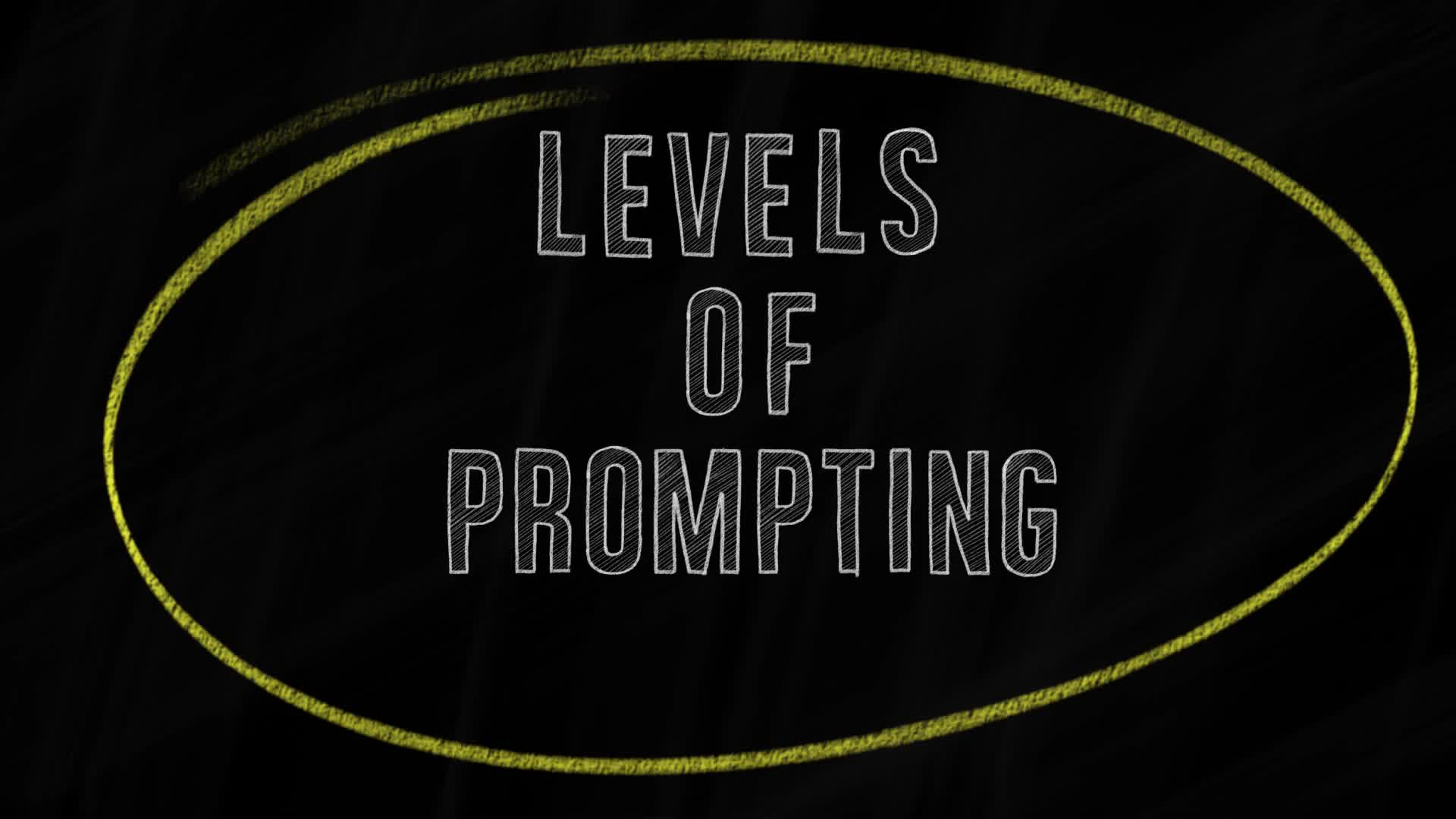 Levels of Prompting Virtual Strategy