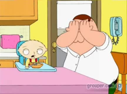 Family Guy peek-a-boo