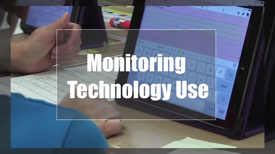 Tech Edge, Mobile Learning In The Classroom - Episode 28, Monitoring Technology Use