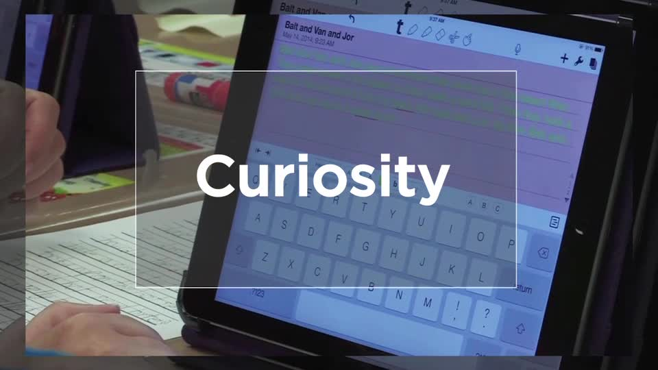 Tech Edge, Mobile Learning In The Classroom - Episode 29, Curiosity App