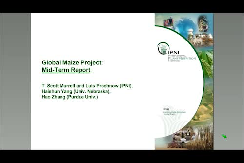 The Global Maize Project: Testing the Concept of Ecological Intensification around the World