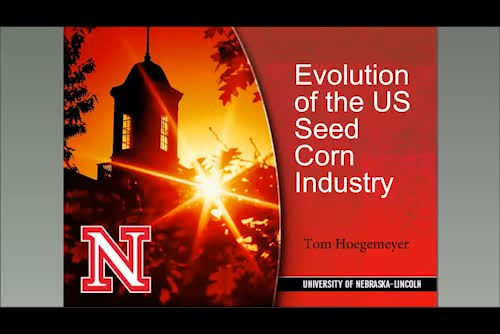 Evolution of the corn seed industry