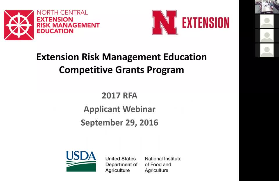 Risk Management Education Center Webinar September 16