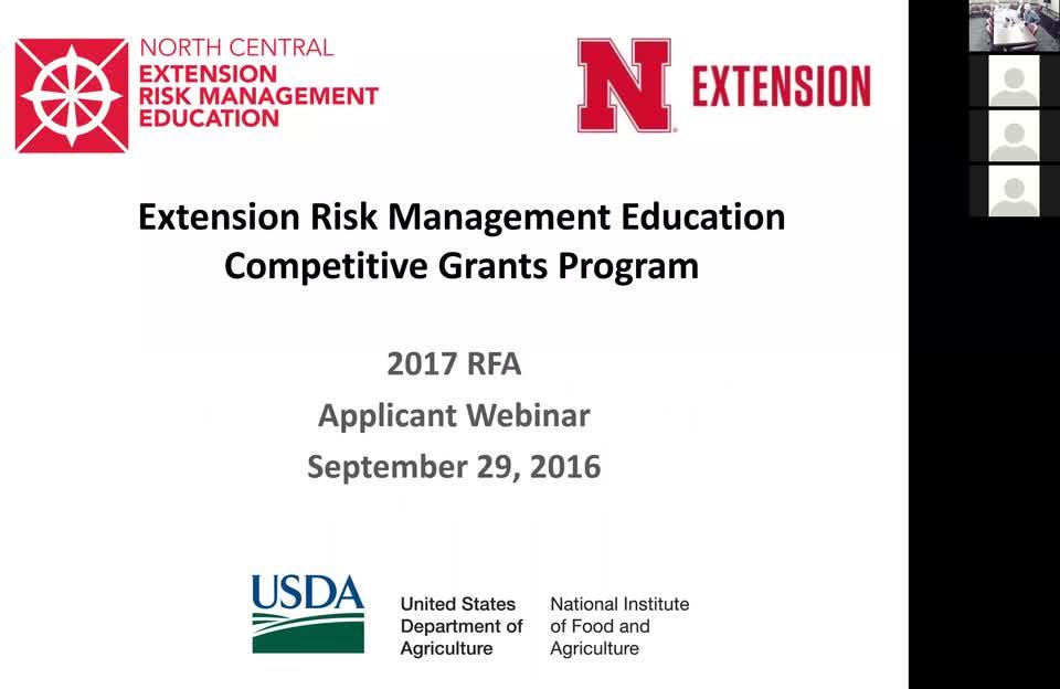 Risk Management Education Center Webinar September 16