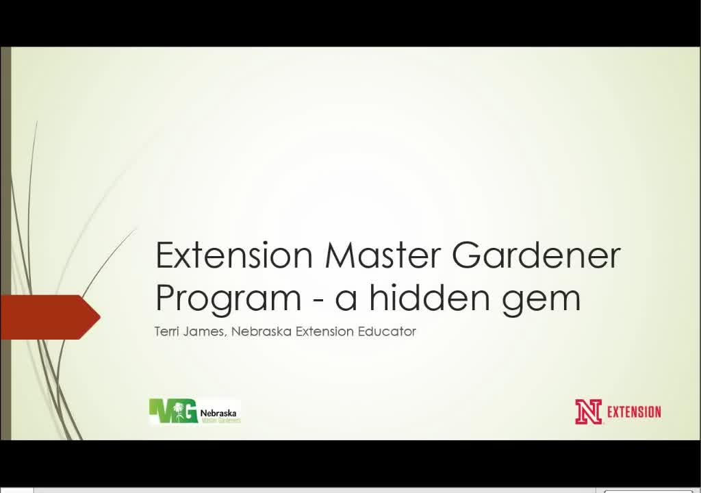 Extension Master Gardener Program—a hidden gem