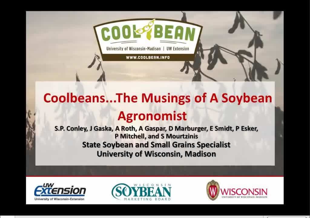 Coolbeans—the musings of a soybean agronomist