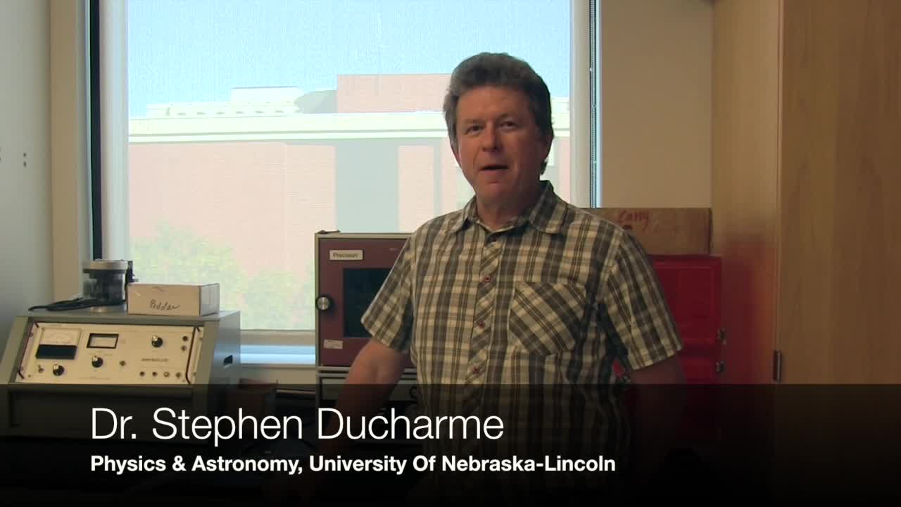 Dr. Stephen Ducharme on Nanotechnology