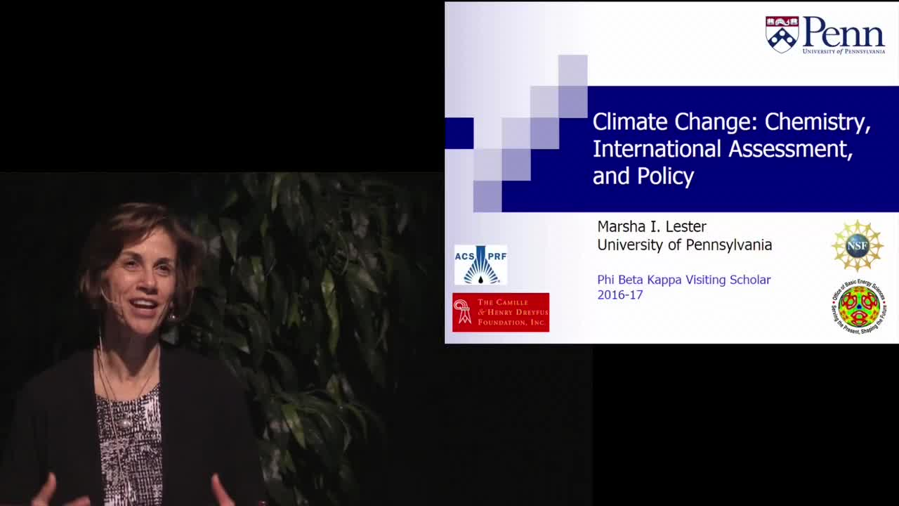 Climate Change: Chemistry, International Assessment and Policy