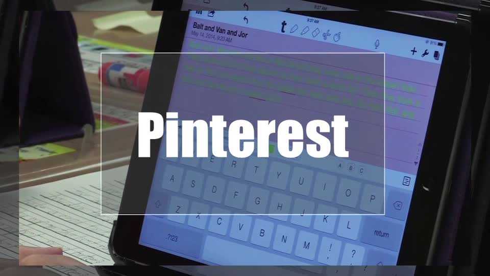 Tech Edge, Mobile Learning In The Classroom - Episode 34, Pinterest