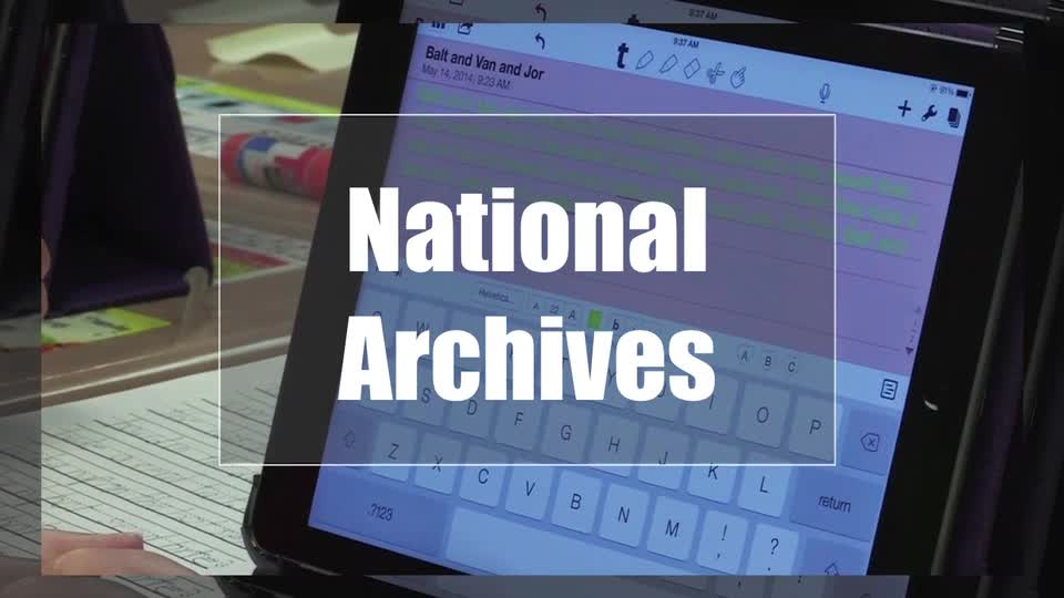 Tech Edge, Mobile Learning In The Classroom - Episode 35, National Archives