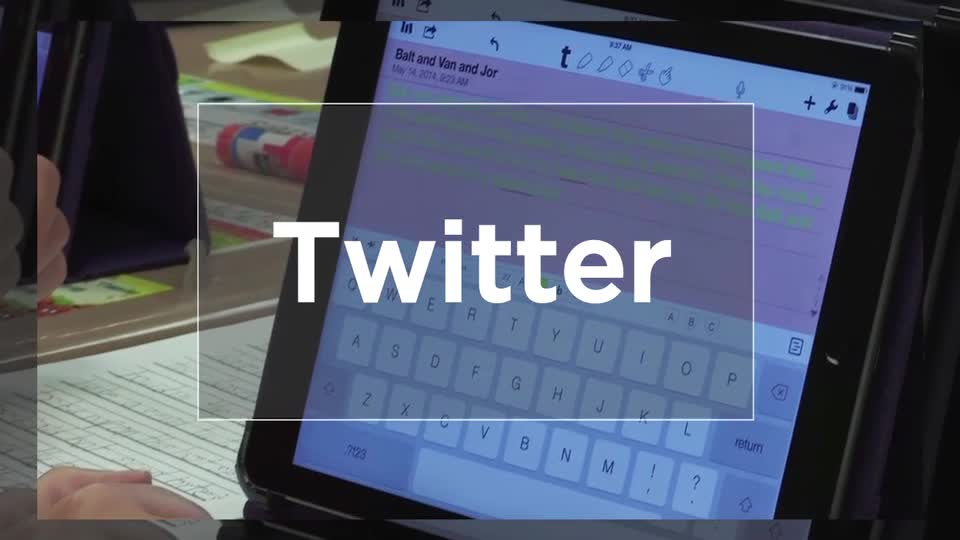 Tech Edge, Mobile Learning In The Classroom - Episode 36, Twitter