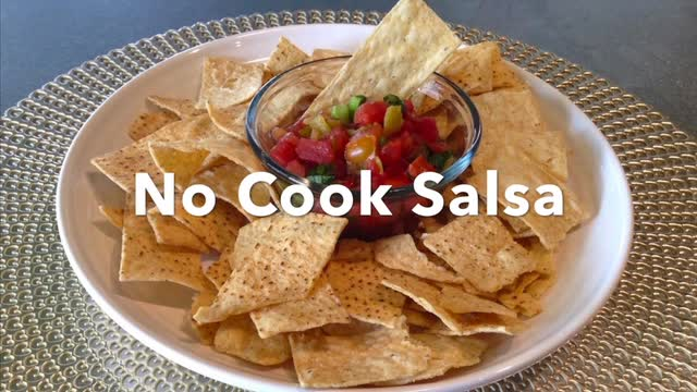 Easy No-Cook Salsa