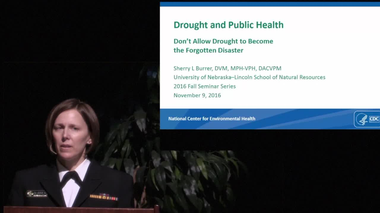 Drought and Public Health
