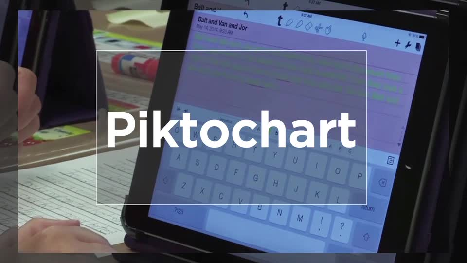 Tech Edge, Mobile Learning In The Classroom - Episode 38, Piktochart