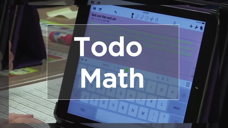 Tech Edge, Mobile Learning In The Classroom - Episode 39, Todo Math