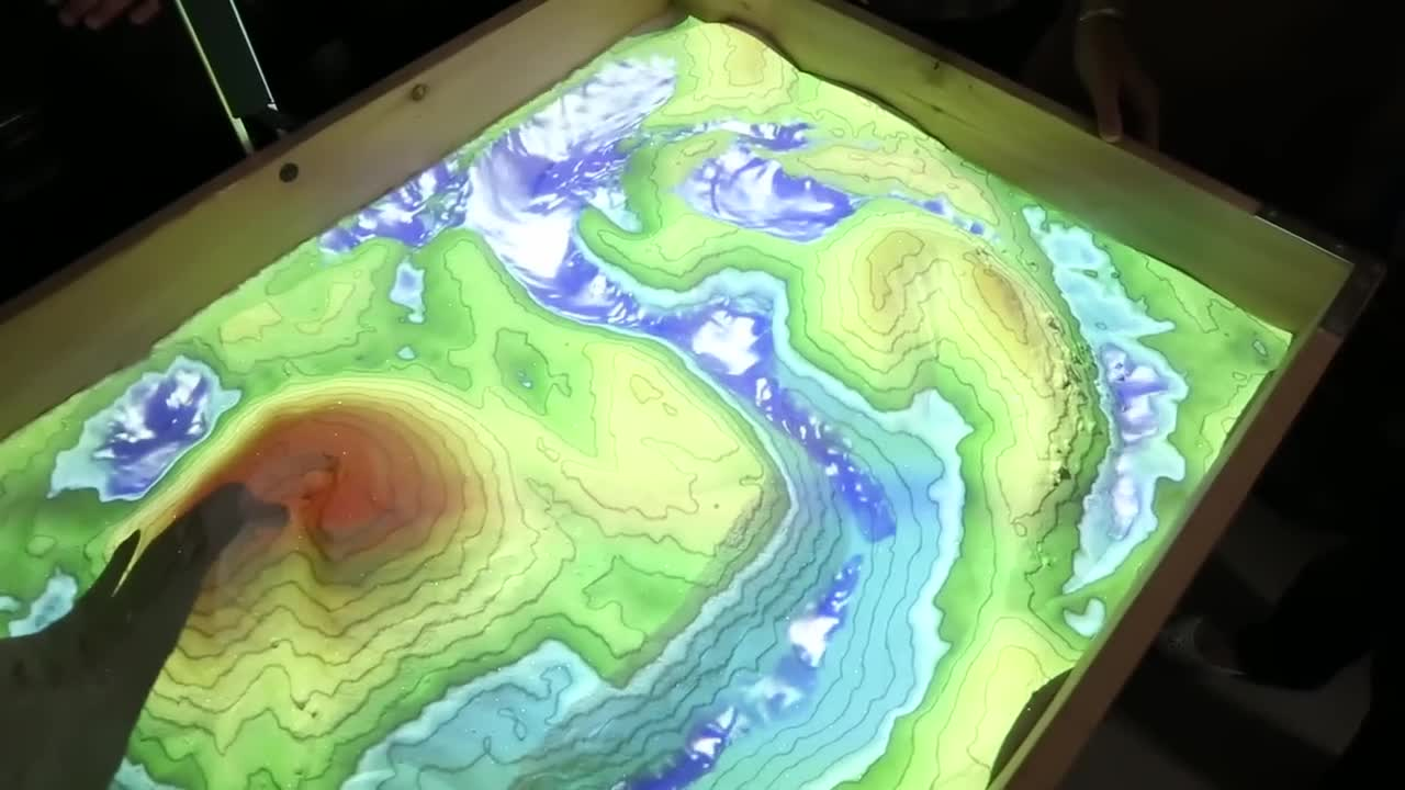 3D Geology Teaching Sandbox