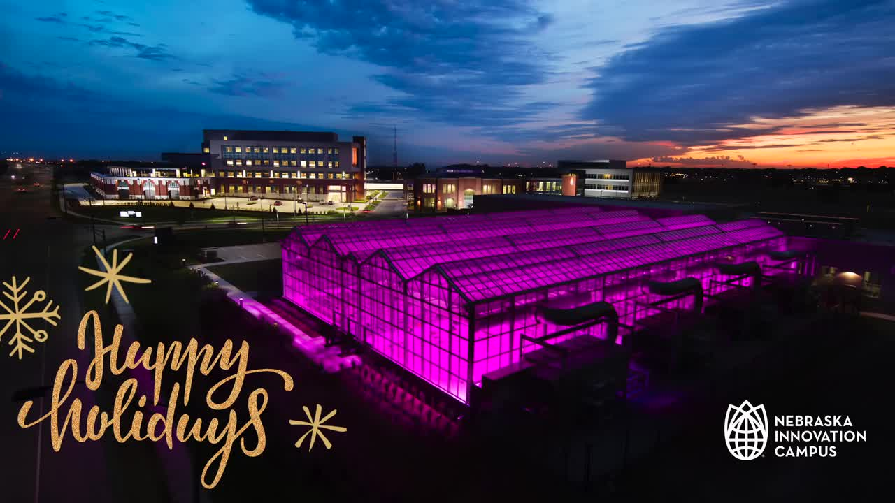 Seasons Greetings from Nebraska Innovation Campus