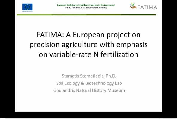 FATIMA: A European Project on Precision Agriculture with Emphasis on Variable Rate Nitrogen Fertilization