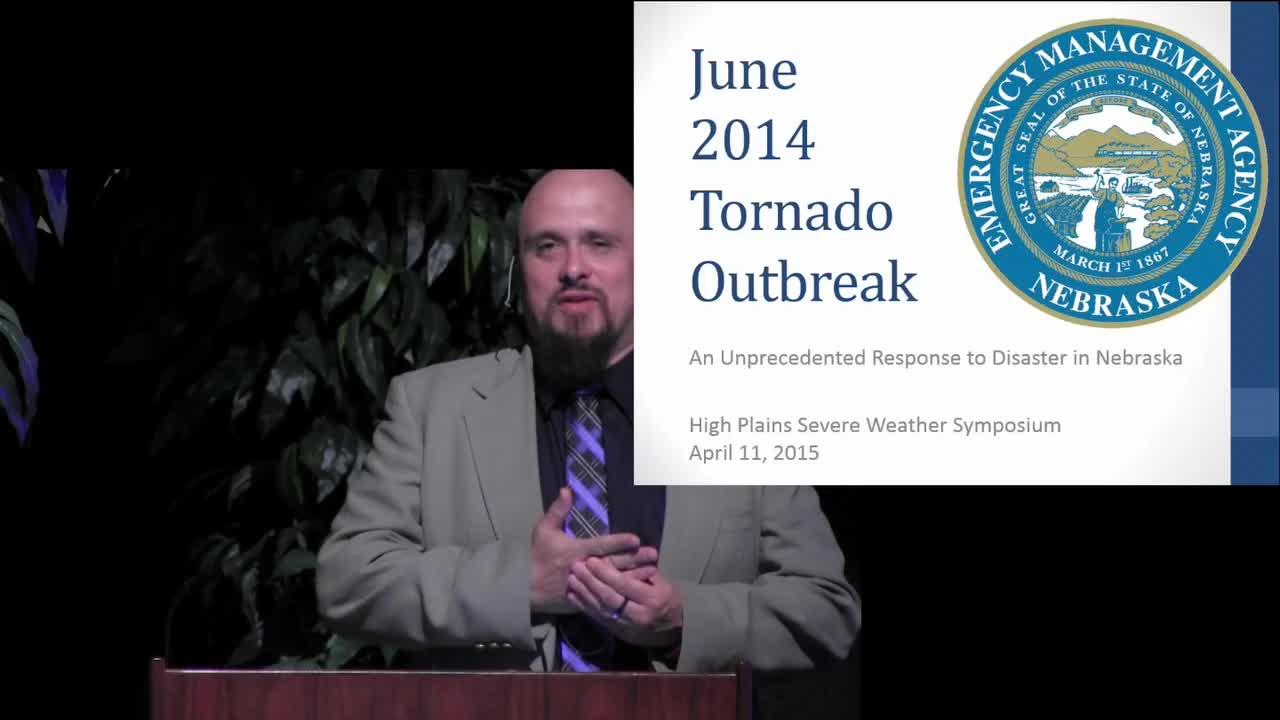 CPSWS 2015 - How the State of Nebraska Responded to the Pilger, NE Tornado Disaster